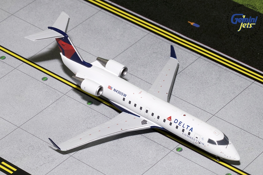Delta Connection CRJ-200 N430SW (1:200) - New Mould - Preorder item, order now for future delivery