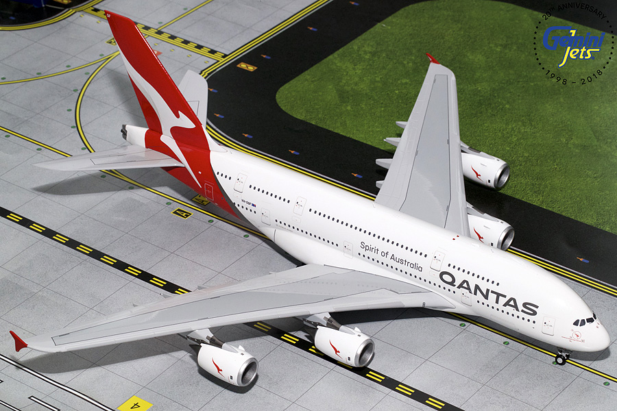 Qantas A380 New Livery VH-OQF (1:200) - Preorder item, order now for future delivery