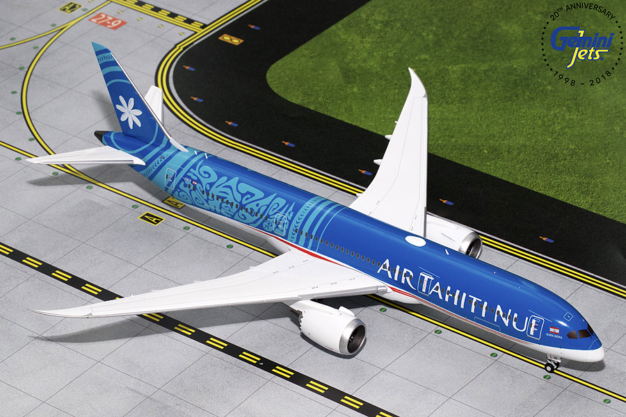 Air Tahiti Nui B787-9 New Livery F-ONUI (1:200) - Preorder item, order now for future delivery