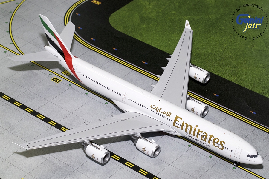 Emirates A340-500 A6-ERE (1:200) - New Mould - Preorder item, order now for future delivery