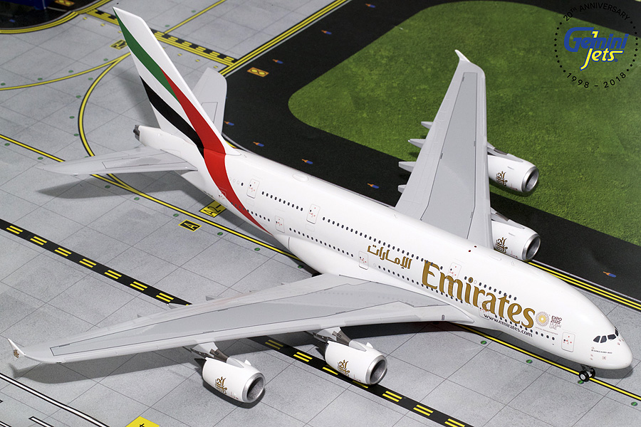 Emirates A380 Expo 2020 A6-EUC (1:200) - Preorder item, order now for future delivery