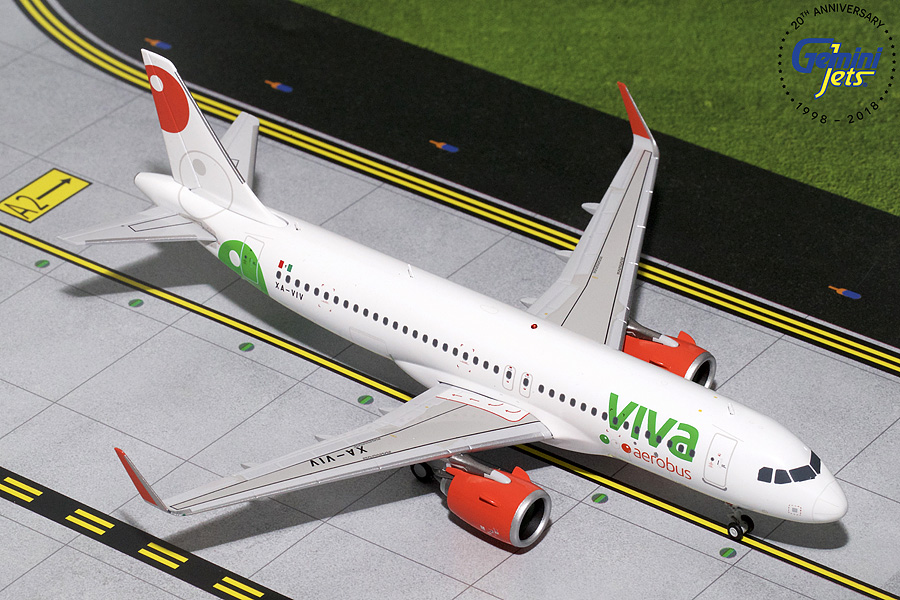 Viva Aerobus A320neo XA-VIV (1:200) - Preorder item, order now for future delivery