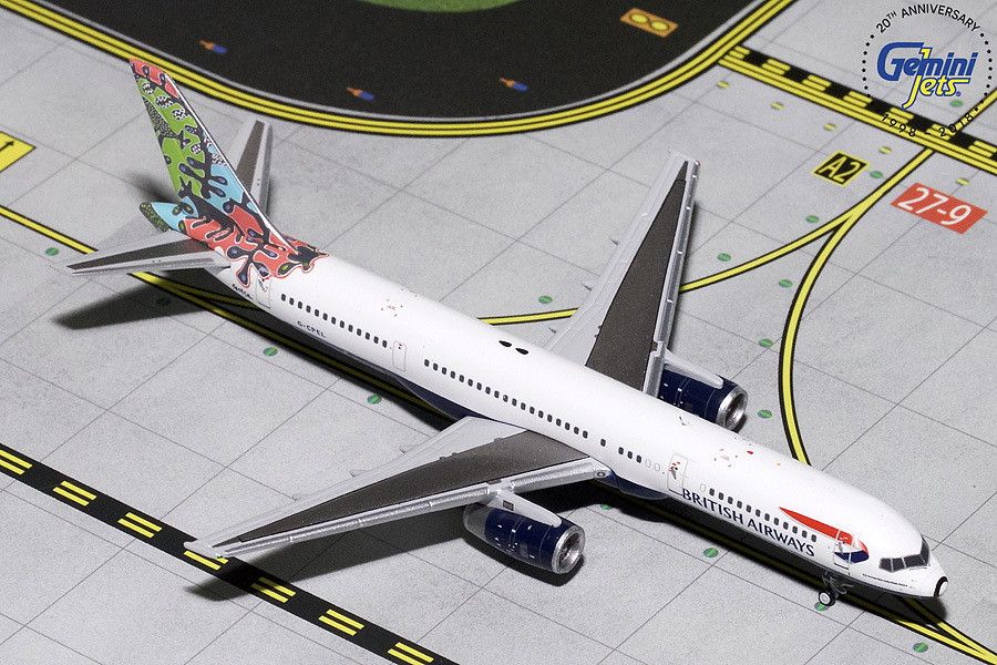 "British Airways B757-200 ""Animal & Trees"" G-CPEL (1:400) - Preorder item, order now for future delivery"