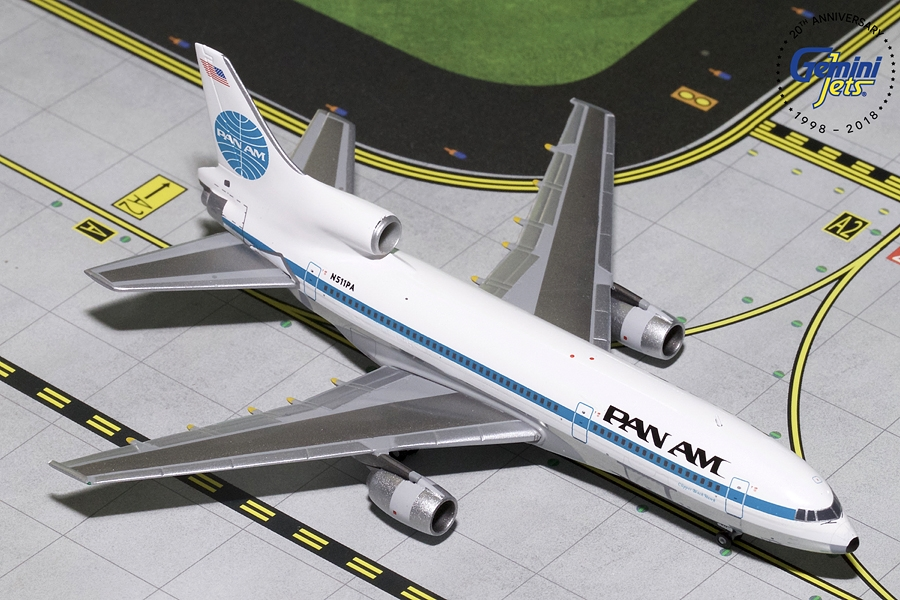 "Pan Am L-1011-500 ""Clipper Black Hawk"" N511PA (1:400) - Preorder item, order now for future delivery"