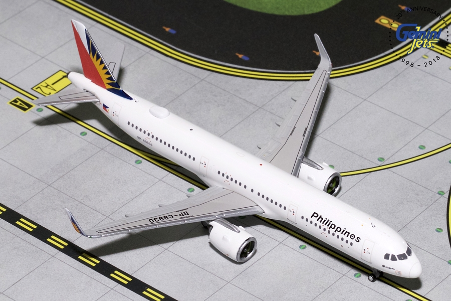 Philippine Airlines A321neo RP-C9930 (1:400) - Preorder item, order now for future delivery