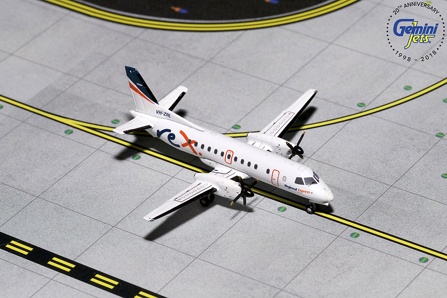 "Rex  ""Regional Express"" Saab SF-340 VH-ZRL (1:400) - Preorder item, order now for future delivery"