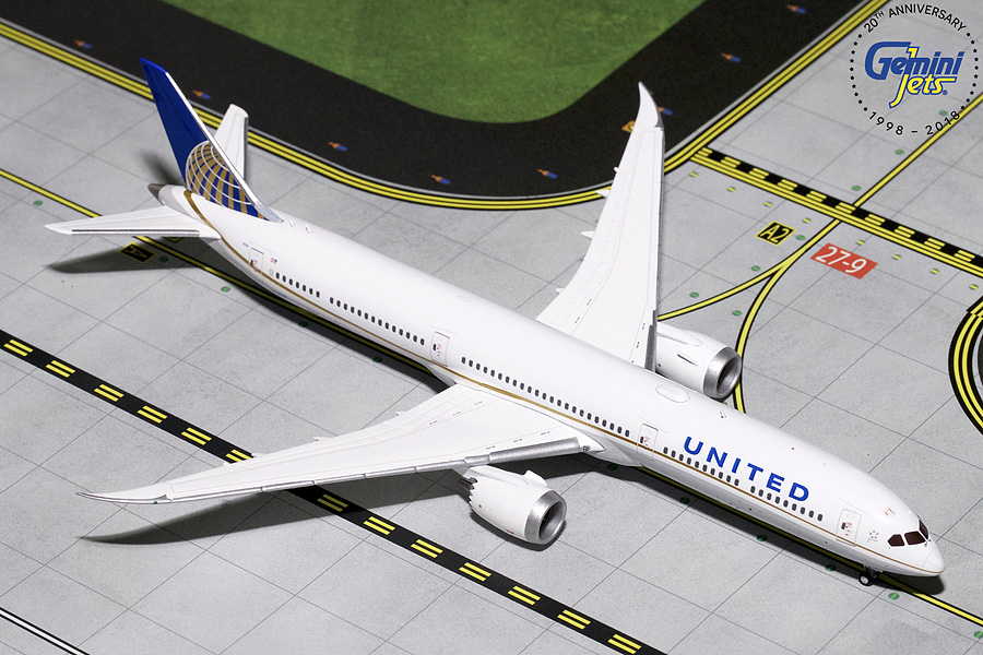 United B787-10 N7879I (1:400) - Preorder item, order now for future delivery