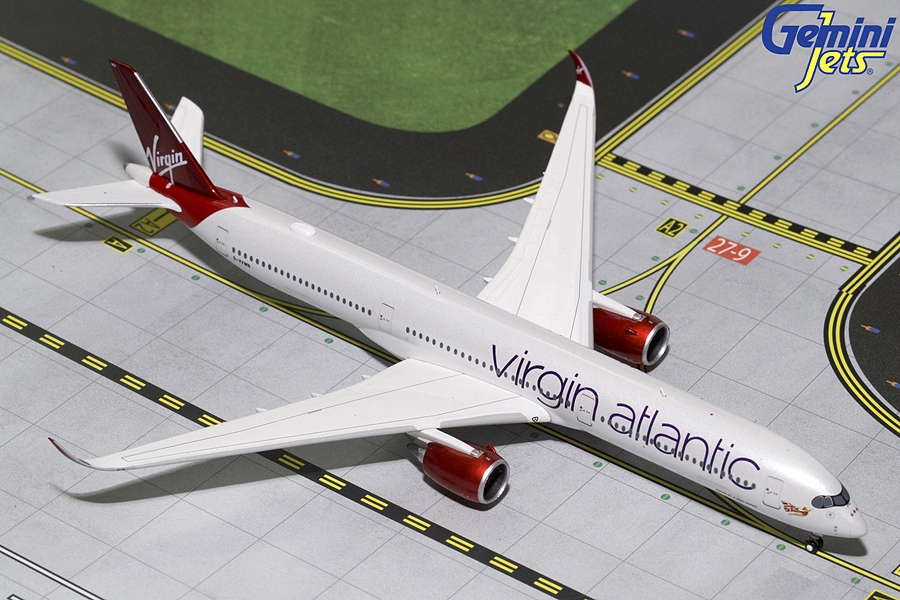 Virgin Atlantic A350-1000 G-VXWB (1:400), GeminiJets 400 Diecast Airliners Item Number GJVIR1758