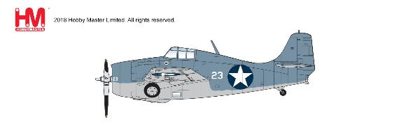 F4F-4 Wildcat White 23, flown by Lt. Cdr John Thach,  VF-3, USS Yorktown, 4-6 June 1942 (1:48) - Preorder item, order now for future delivery