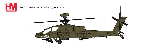 AH-64D Longbow 1st Atck. Recon. Bttn., 1st Combat Av. Brigade, 1st ID, Iraq 2010 (1:72) - Preorder item, order now for future delivery, Hobby Master Diecast Airplanes Item Number HH1202