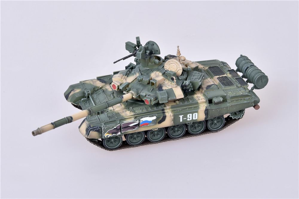 T-90 Main Battle Tank Tanker's Day celebrations, 38th Research Institute, Kubinka, Russia (1:72), ModelCollect Item Number AS72048