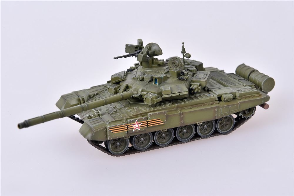 T-90A Main Battle Tank Red Square Victory Parade, Russian Army, May 9, 2015 (1:72)