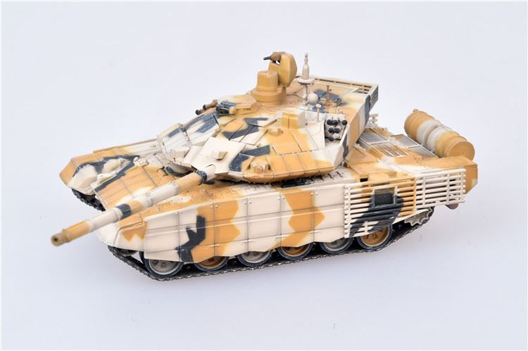 T-90MS Main Battle Tank Weapons Show Desert Camouflage, 2014 (1:72)
