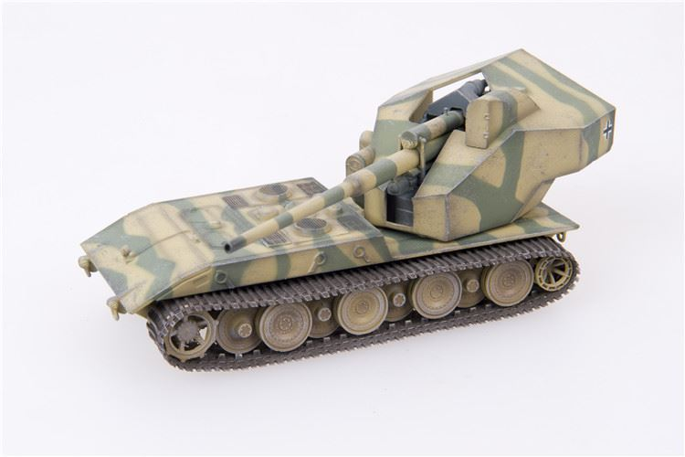 "Waffentraeger Auf E 100 Tank Destroyer with 128mm Gun German Army, ""1946,"" Two-Tone Camo (1:72)"