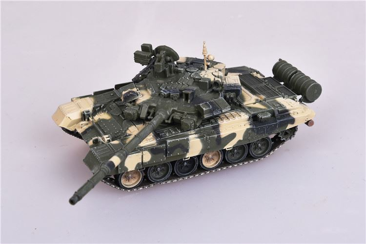 "T-90A Main Battle Tank 2nd Guards Motor Rifle Division ""Tamanskaya,"" Russian Army, Victory Day Parade, Moscow, 2010 (1:72), ModelCollect Item Number AS72092"