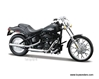 2008 FXSTB Night Train, Harley-Davidson Motorcycles Series 26 (1:18), Maisto Item Number MST31360/26B