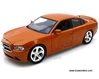 Dodge Charger Hard Top (2011, 1:24 scale diecast model car, Copper Orange), Motormax Item Number 73354OR/6