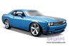 Dodge Challenger SRT8 Hard Top w/ Sunroof (2008, 1/24 scale diecast model car, Blue)