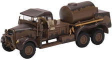 "Fordson War Office Truck 1 (WOT1) Crash Tender, ""Mickey Mouse"" Camouflage, RAF Scampton, World War II (1:76 OO Scale) by Oxford Diecast Military Vehicles"