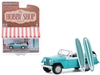 "1968 Jeep Jeepster Aquamarine Metallic with Two Surfboards ""The Hobby Shop"" Series 9 1/64"