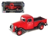 1937 Ford Pickup Truck Red (1:24), Motormax Item Number MMX73233R