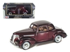 1939 Chevrolet Coupe Burgundy (1:24), Motormax Item Number MMX73247BUR