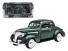1939 Chevrolet Coupe Green (1:24), Motormax Item Number MMX73247GRN