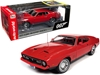 "1971 Ford Mustang Mach 1 Bright Red with Red Interior (James Bond 007) ""Diamonds are Forever"" (1971) Movie 1/18"