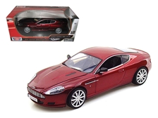 Aston Martin DB9 Coupe Burgundy 1/18 by Motormax