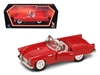 Ford Thunderbird Convertible w/ Removable Bonnet (1955, 1:18, Red) 92068, Yatming Item Number 92068R