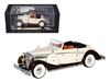 1937 Maybach SW38 Spohn 2 Doors Tan Convertible (1:43), Signature Models Item Number 43705TAN