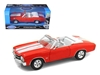 1971 Chevrolet Chevelle SS 454 Convertible Orange (1:24), Welly Item Number 22089OR