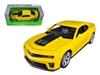Chevrolet Camaro ZL1 Yellow 1/24 Diecast Car Model by Welly, Welly Item Number 24042Y