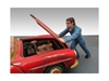Mechanic Ken Figure For 1:18 Car