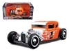 1929 Ford Model A Harley Davidson Orange With Flames #1 1/24