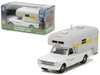 1968 Chevrolet C10 with Silver Streak Camper Hobby Exclusive 1/64 Diecast Model Car by Greenlight