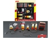 6pc Shop Tools Set #1 Shell Oil 1/18 Diecast by GMP, GMP Item Number 18869