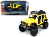 2015 Jeep Wrangler Unlimited in Yellow - Off-Road Kings Series (1:24), Maisto Item Number MST32523Y