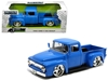 "1956 Ford F-100 Pickup Truck Blue ""Just Trucks"" 1/24 Diecast Model Car by Jada, Jada Item Number 99044"