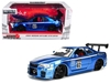 "2002 Nissan Skyline GT-R R34 Blue #02 ""JDM Tuners"" 1/24 Diecast Model Car by Jada, Jada Item Number 99115"