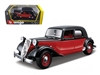 1938 Citroen 15 CV TA Black and Red 1/24