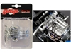 "Twin Turbo Boss 429 Drag Engine and Transmission Replica from ""1969 Ford Mustang Gasser ""The Boss"" 1/18 by GMP Item number 18914"