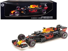"TAG Heuer RB14 #3 Daniel Ricciardo Winner Formula One F1 Monaco GP (2018) ""Aston Martin Red Bull Racing"" 1/18 by Minichamps Item Number: 110180603"