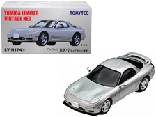 1991 Mazda Efini RX-7 Type R RHD (Right Hand Drive) Metallic Silver 1/64 by TomyTec Item Number: 288961