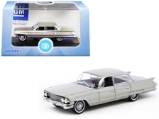 1961 Cadillac Sedan DeVille Aspen Gold Metallic 1/87 (HO) by Oxford Diecast Item Number: 87CSD61002
