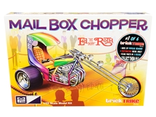 "Skill 2 Model Kit Mail Box Chopper Trike (Ed ""Big Daddy"" Roth's) ""Trick Trikes"" Series 1/25 Scale Model by MPC"