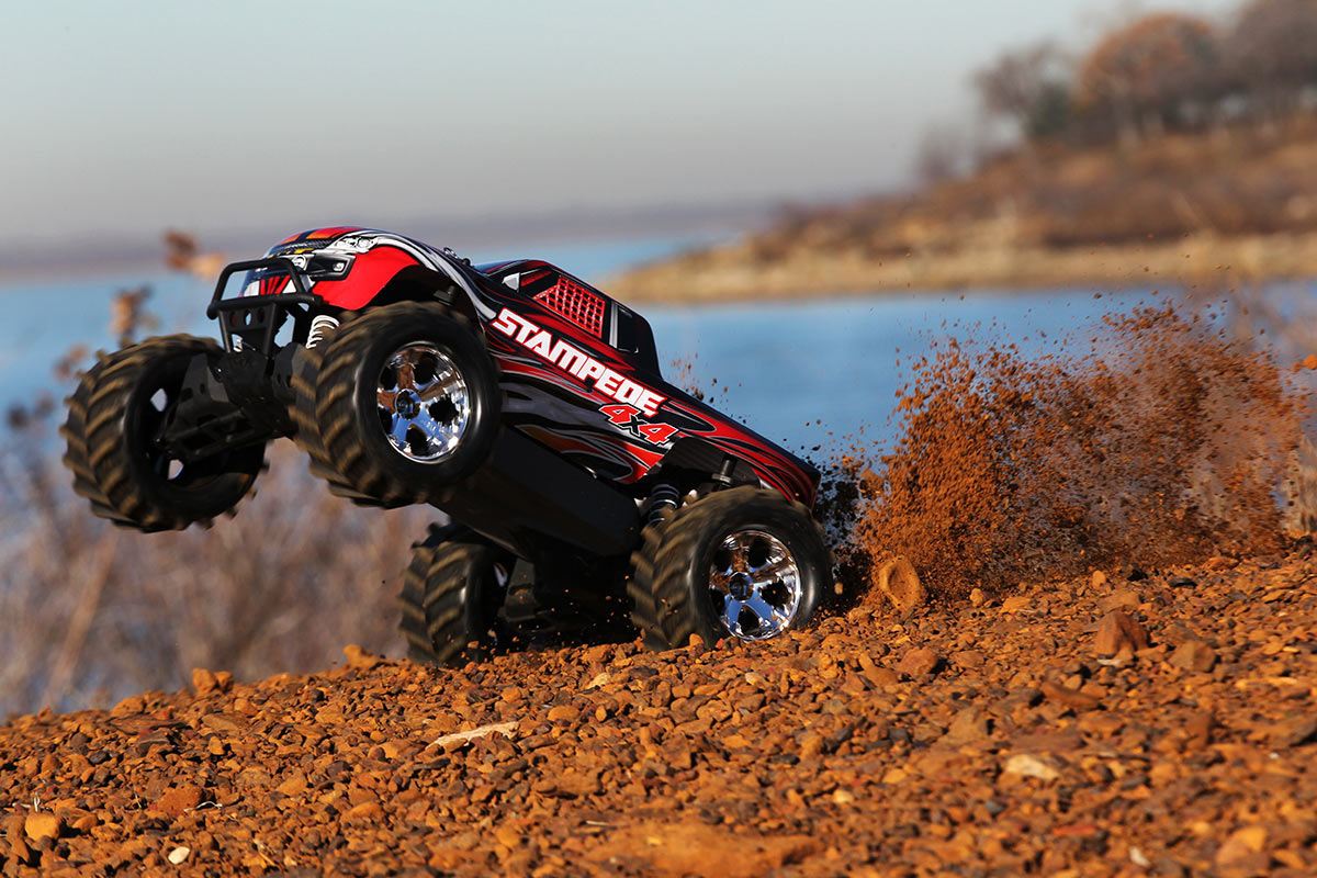 Stampede 4x4 W/Tq 2.4ghz Brush, Traxxas Radio Control Item Number TRX67054-1