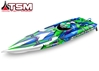 Spartan Brushless Muscleboat by Traxxas Radio Control item number: TRX57076-4