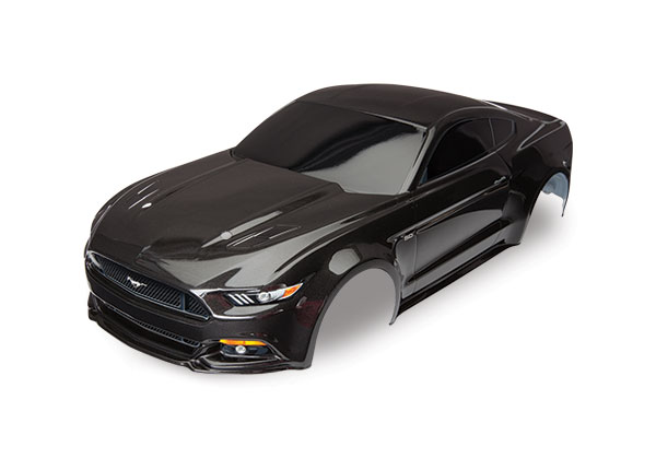 Body,Ford Mustang GT, black, Traxxas Radio Control Item Number TRX8312X