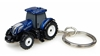 New Holland T7.225 Blue Power Tractor Keyring by Universal Hobbies item number: UHB5814